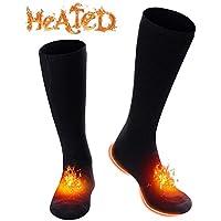 A-lee Eléctrica Recargable Caliente Calcetines Calcetines para los pies fríos crónicos (Eléctrica Calcetines