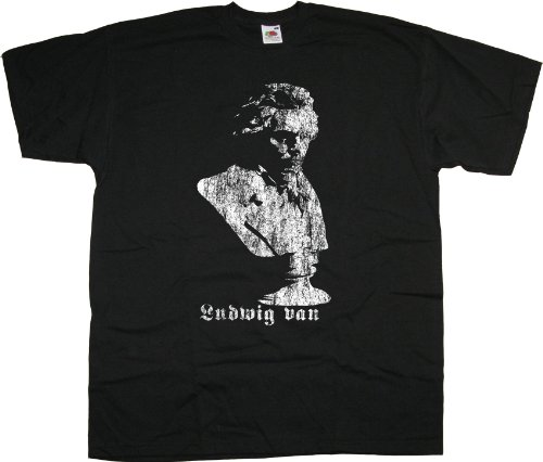 Ludwig Van Beethoven Bust T shirt