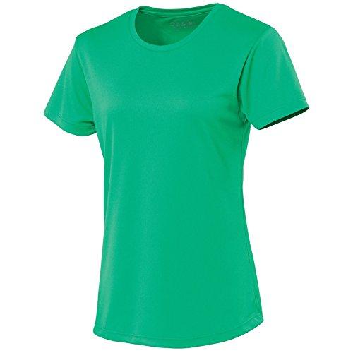 AWDis Femmes Just Cool De course Respirable T Shirt Verde - Kelly green