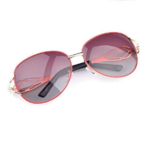 O-C Damen Sonnenbrille Rot Rot