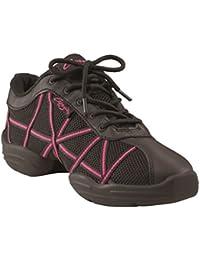 Baskets Capezio DS19 Web - Noir/Rose Taille 39