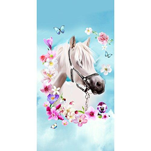 Good Morning Strandlaken Strandtuch 4924 My Beauty Pferd 75x150 cm