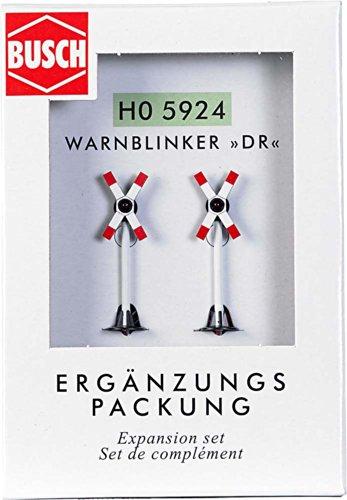 Busch-Jaeger - Señal de modelismo ferroviario Escala 1:87 (H0 BU ERGÄNZUNGSSET 2 WARNBLINKER DR BUE5924)