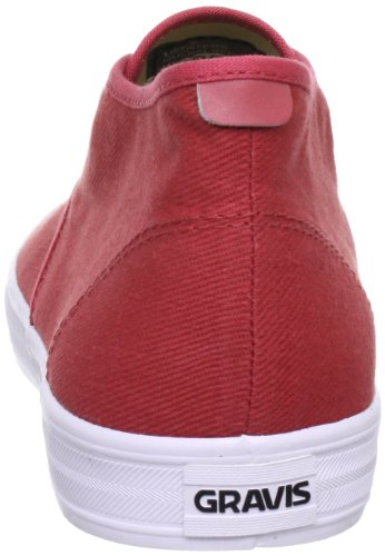 Gravis 2889070019.5, Chaussures basses homme Rouge (Mineral Red 605)