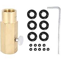 FTVOGUE Tr21‑4 a W21.8‑14 ‑ RH Adaptador de CO2 Piezas de la válvula de inflado para Equipos de elaboración de Cerveza Conector de latón
