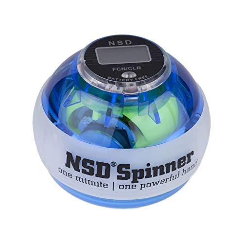 PowerBall Spinner Lightning Blau Pro: Beleuchtung Ihrer Beschwerden, in Einer Minute eine stärkere Hand