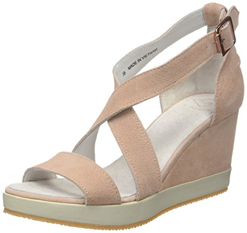 PLDM by Palladium Damen Wellton Mix Peeptoe Sandalen Rosa (Light Pink)