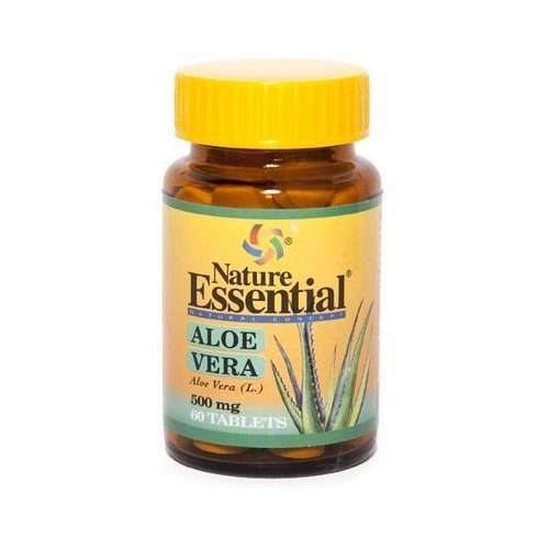 Aloe-Vera-60-Tablets-of-500-mg-of-Nature-Essential