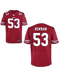53 NaVorro Bowman Trikot San Francisco 49erss Jersey American Football Shirt Mens