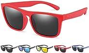SQUATCH®   Gafas de sol Paris   Niños Niñas Niñas 4 – 14 años   Montura irrompible   lentes polarizadas y anti