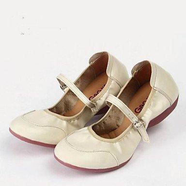Silence @ Chaussures de danse pour femme Sneakers Cuir Talon bas Rouge/fuchsia/noir/blanc Red