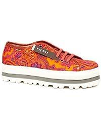 Zapato Frau Orange 37J4