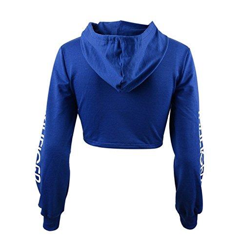 Memoryee - Sweat à capuche - Femme Bleu