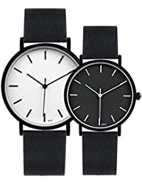 Pareja relojes / diseño simple / reloj elegante / temperamento / reloj tridimensional / un par , A