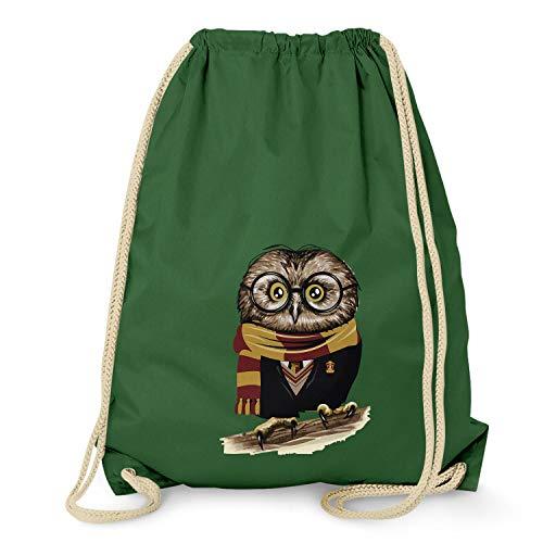 Texlab Harry Owl – Turnbeutel, dunkelgrün