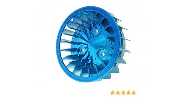 Lüfterrad blau für Yamaha YE Zest 50