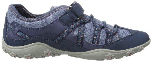 Geox Jr Better A, Sneaker Bambina Blu (Avio C4005)