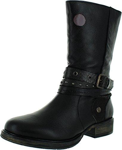 Lotus Huambo Womens Calf Length Boots 6 Black