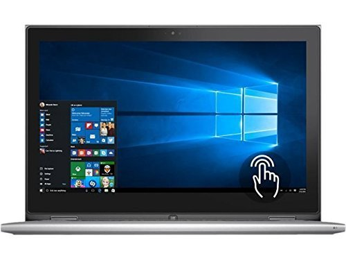 2016 Dell Inspiron 11.6-Inch 2-in-1 Convertible Touchscreen Laptop, Intel Pentium Quad-Core Processor, 11-Hour Battery Life, 4GB RAM, 500GB HDD, Webcam, WIFI, Bluetooth, Windows 10 41ySKYGaulL