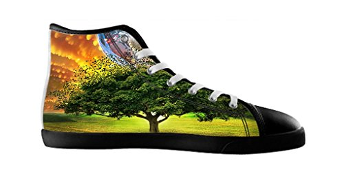 Dalliy Tree of Life Baum des Lebens Men's Canvas shoes Schuhe Lace-up High-top Footwear Sneakers E