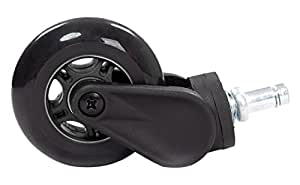 Akracing Rollerblade Rollen schwarz -5 Stück