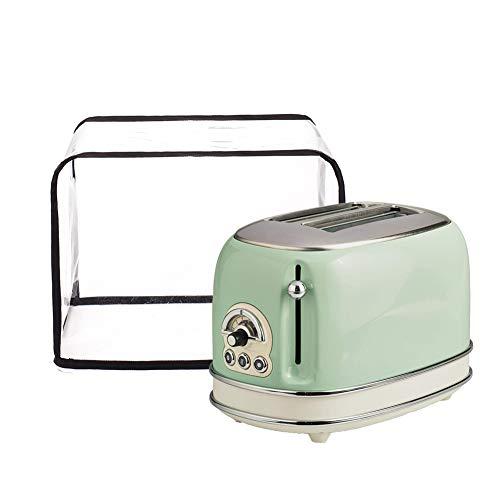 Wasserdichte Brotback-Abdeckung, transparent, 2 Scheiben, Brot, Toaster, Ofen, Organizer, Tasche, Toaster, Backofenschutz, hält Toaster Geräte bis 30,5 cm L und 24,1 cm H HZC249