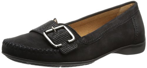 Gabor Shoes Comfort 82.523.47 Damen Mokassins Schwarz (schwarz (schwarz))