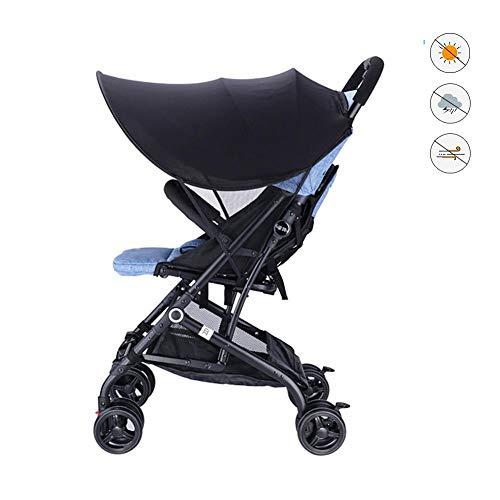 chifans Kinderwagen-Sonnenblende, Kinderwagenbezug, Baby-UV-Schutztuch für Kinderwagen und Autositze
