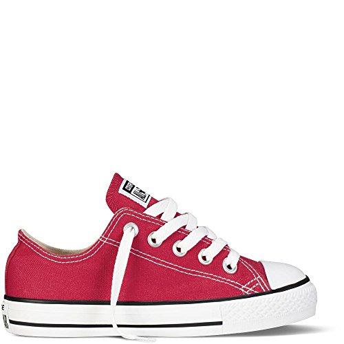 Converse Chuck Taylor Yths C/T All Star Ox Canvas, Chaussures de Fitness Mixte Enfant