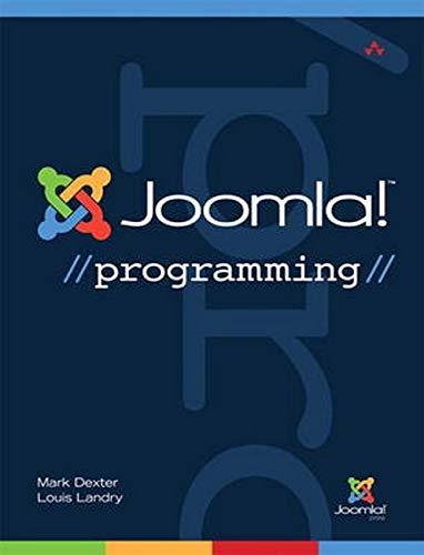 Joomla! Programming (Joomla! Press)