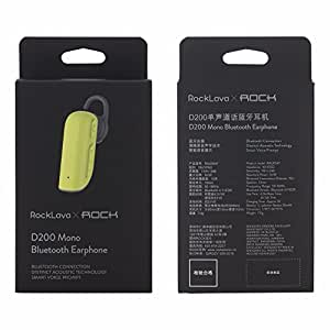 Rock Lava Premium D200 Mono Bluetooth Earphone for Videocon Infinium Z51Q Star