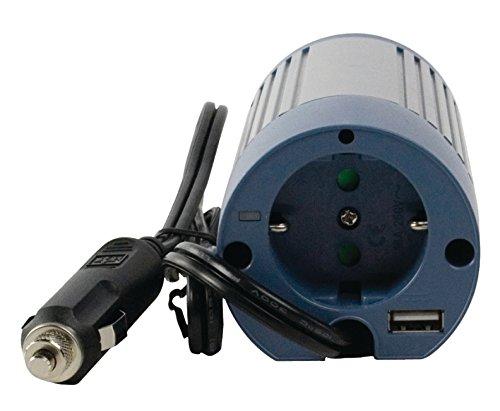 Eurosell - Profi Wechselrichter 12V - 230V 100W + USB Port Spannungswandler Zigarettenanzünder Steckdose Adapter Konverter Converter Strom für KFZ Auto Boot