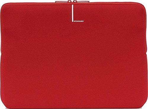 Tucano Second Skin Colore Neopren-Hülle für widescreen Notebooks 33 cm (13 Zoll) und 14 Zoll, rot Tucano Laptop