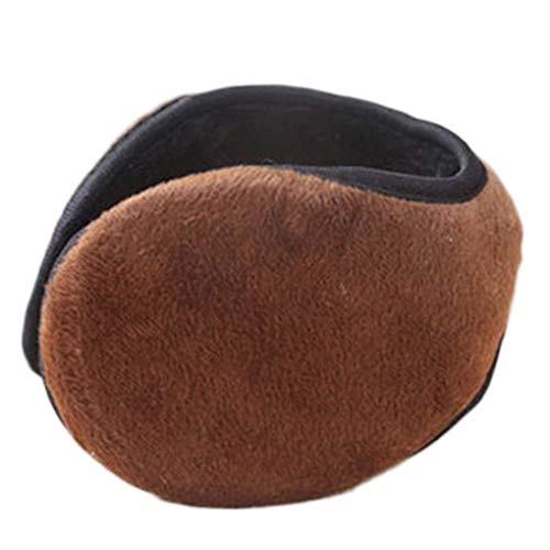 Men Boys Fleece Ear Warmers Winter Autumn Velvet Earmuffs Outdoor Sports Students Thick Ear Protector Fleece Ear Warmer