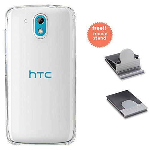 Stuffcool Pure Transparent Soft Back Case for HTC Desire 526G+ Dual Sim- Clear