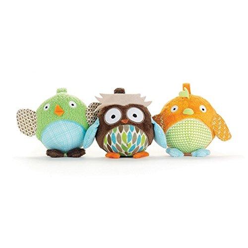 Skip Hop Treetop Friends Ball Trio Babyspielzeug