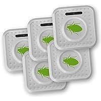 ISOTRONIC® Repelente de Insectos contra chinches y ácaros, Alimentado por batería, Protección por ultrasonido y con Alto Alcance - Paquete de 5 Piezas