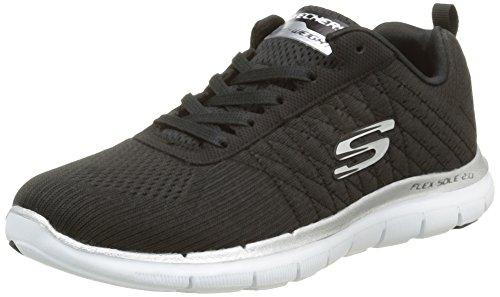 skechers-flex-appeal-20-break-free-zapatillas-de-deporte-para-mujer-negrobkw-noir-blanc-40