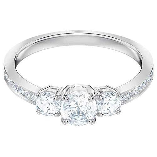 Swarovski Damen-Ringe Edelstahl Kristall \'- Ringgröße 55 5414972