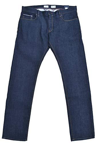 Tommy Hilfiger Jeans Selvedge Raw Denim Denton Straight Fit Blau W36 L34 -