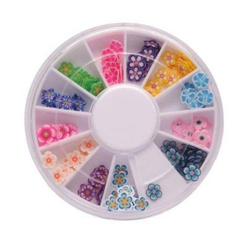 Gleader 144 pcs Petits ornements pour l'art des ongles