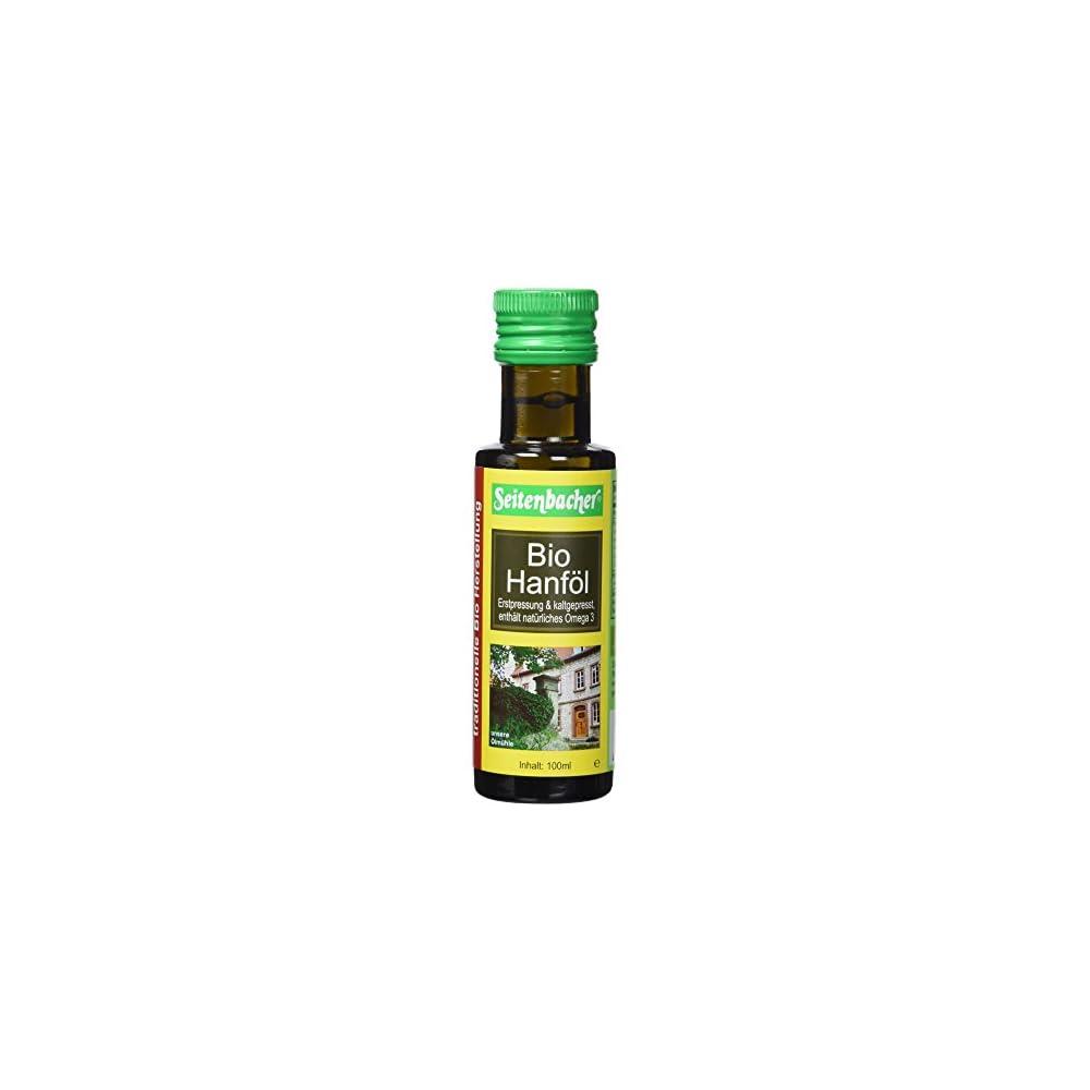Seitenbacher Bio Hanf L Rein Nativ Kaltgepresst1 Pressung 1er Pack 1 X 100 Ml