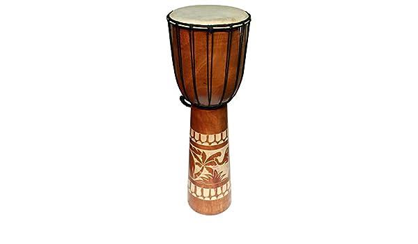 70 cm Djembe Bongo ELEFANT Afrika Style Carving Trommel 03