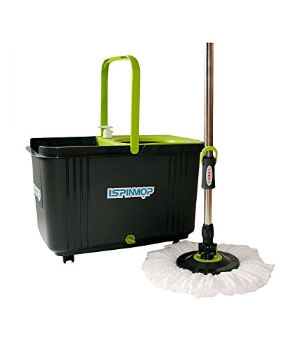 Magic Spin Mop 360 - Stainless Steel and Trolley Model