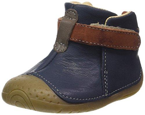Babybotte Zak, Baby Jungen Babyschuhe - Krabbelschuhe & Puschen Blau (Marineblau)