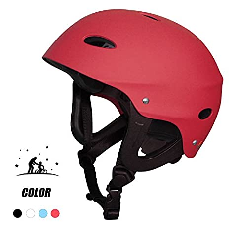 Adult Water Skate Bike Helmet - Vihir Multi Sports Skateboard Scooter Men Women Dial Helmet, Red/L