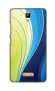 ZAPCASE Printed Back Cover for Gionee P7