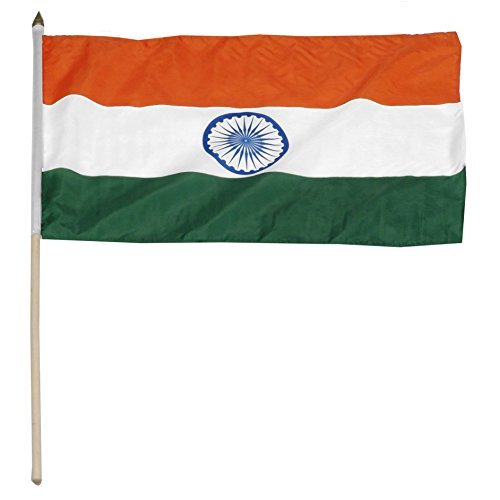 Lofster Indian Flag Knitted Polyester 20 X 30,flag, India Flag, Indian, Republic...