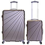 Best Suitcases Sets - Slimbridge Luggage Set of 2 Hard Shell ABS Review