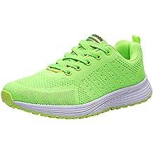 Kauneus Women Men Candy Color Fitness Outdoor Sneakers Unisex Sole Sport Shoes Jogging Running Shoes